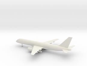 Boeing 757-200 in White Natural Versatile Plastic: 6mm