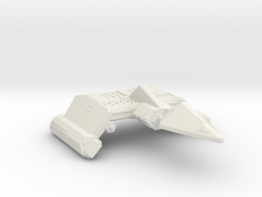 3125 Scale Neo-Tholian Battleship (Original) SRZ in White Natural Versatile Plastic