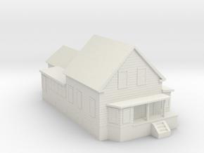 House 3D Print V2 in White Natural Versatile Plastic: Small