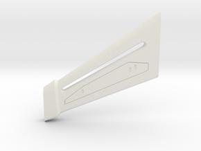 1400 Discovery Enterprise Pylon Right in White Natural Versatile Plastic