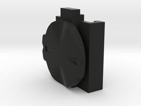 Bike light adaptor - Cygolight to Garmin Edge quar in Black Natural Versatile Plastic