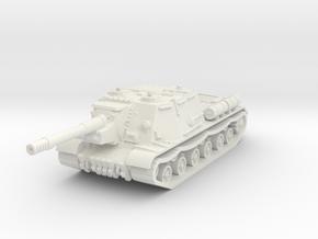 ISU-152 1/56 in White Natural Versatile Plastic