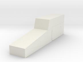 1.4 EC120 CONSOLE CENTRALE in White Natural Versatile Plastic
