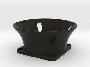 40mm Velocity Stack in Black Natural Versatile Plastic