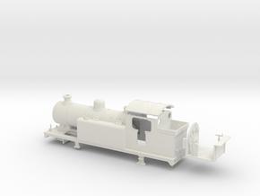 LBSCR E6-X - SR/BR body (Single dome) in White Natural Versatile Plastic: 1:76 - OO