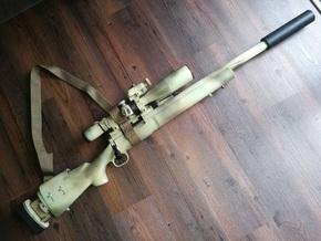 SSG 24 silencer in Black Natural Versatile Plastic