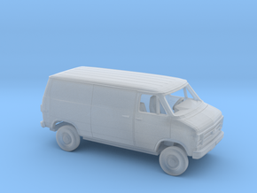1/160 1979-83  Chevrolet G Van Closed Sliding Side in Smooth Fine Detail Plastic
