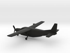 Cessna 208B Super Cargomaster in Black Natural Versatile Plastic: 1:200