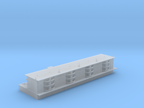 1:700 Scale Apartment Building  in Smooth Fine Detail Plastic