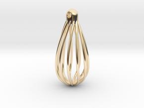 Teardrop earrings (from $7.48) in 14k Gold Plated Brass