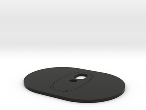 Nadir Plate for Ricoh Theta Z1 in Black Natural Versatile Plastic