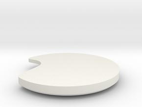DISC1-02-WH FWD-RH-CS in White Natural Versatile Plastic
