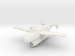 (1:144) Blohm & Voss BV P175 in White Natural Versatile Plastic
