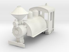 b-43-baldwin-0-6-0-saddletank-loco in White Natural Versatile Plastic