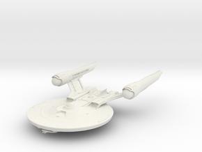 Alt Federation Shepard Class Refit LightCruiser V  in White Natural Versatile Plastic