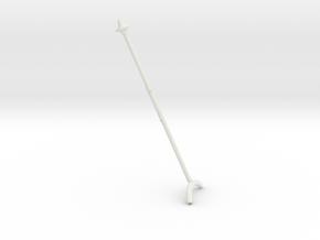 InSpace Black Lunar Lance - Legacy in White Natural Versatile Plastic