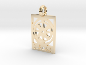 Athuraia Pendent in 14K Yellow Gold