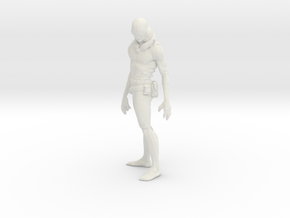 Printle V Homme 1572 - 1/20 - wob in White Natural Versatile Plastic