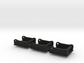 OQ50 plaat 3 stuks in Black Natural Versatile Plastic
