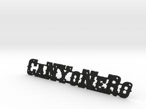 Canyonero 4x4 Pickup Logo in Black Strong & Flexible