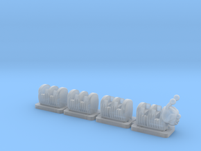 nscalewackywormtrain  in Smooth Fine Detail Plastic