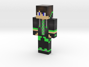 green | Minecraft toy in Natural Full Color Sandstone