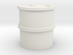 7mm Concrete Water Tank in White Natural Versatile Plastic