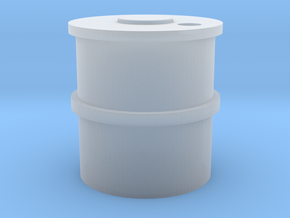 HO Concrete Water Tank in Smooth Fine Detail Plastic