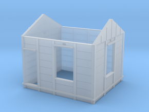 HO Gilmore PC Signal Box Walls in Smooth Fine Detail Plastic