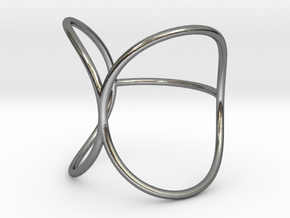 Wrapped Ring in Polished Silver: 7 / 54