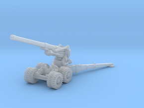 BL 7.2 inch Howitzer 1/160 in Smooth Fine Detail Plastic