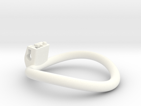 Cherry Keeper Ring - 63mm -12° in White Processed Versatile Plastic