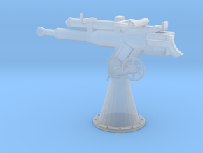 1/56 Scale 3 Inch 23 Cal AA Gun in Smooth Fine Detail Plastic