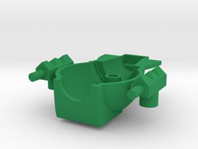 Beam Tripler Cockpit in Green Processed Versatile Plastic