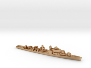 USS Henry A. Wiley destroyer ml 1:1800 WW2 in Natural Bronze