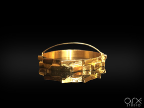 Corona (Crown of Thorns) in 18k Gold Plated Brass