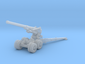 BL 7.2 inch Howitzer 1/285 in Smooth Fine Detail Plastic