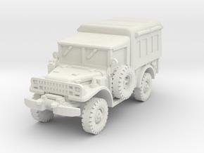 Dodge M42 1/100 in White Natural Versatile Plastic