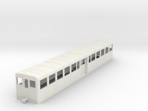 c-55-camargue-decauville-coach in White Natural Versatile Plastic