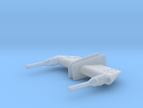 EC135 Pitot (L/R) 1/4 scale in Smooth Fine Detail Plastic
