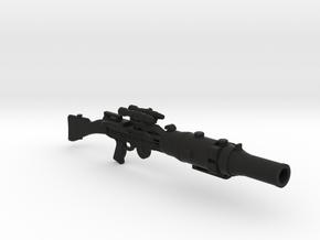 T-21B 12in  in Black Premium Versatile Plastic