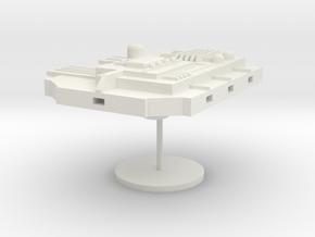9-Modular-Hanger in White Natural Versatile Plastic