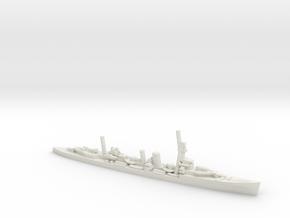 British Danae-Class Cruiser in White Natural Versatile Plastic: 1:1800