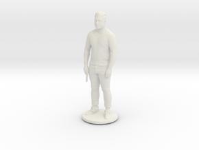 Printle C Homme 424 - 1/32 in White Natural Versatile Plastic