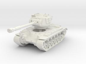 M46 Patton 1/120 in White Natural Versatile Plastic