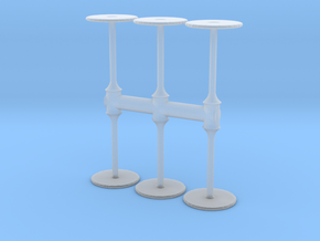 Bar Table (x6) 1/144 in Smooth Fine Detail Plastic