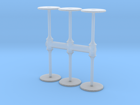 Bar Table (x6) 1/160 in Smoothest Fine Detail Plastic