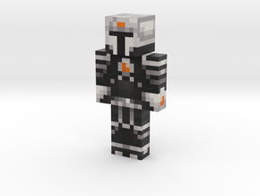 Radical_Man | Minecraft toy in Natural Full Color Sandstone