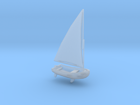 1/72 Scale 9 ft Plastic Dinghy Mk2 USN in Smooth Fine Detail Plastic