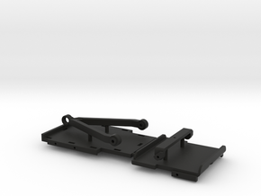 Chassis Parts for Micro Shark Conversion in Black Natural Versatile Plastic